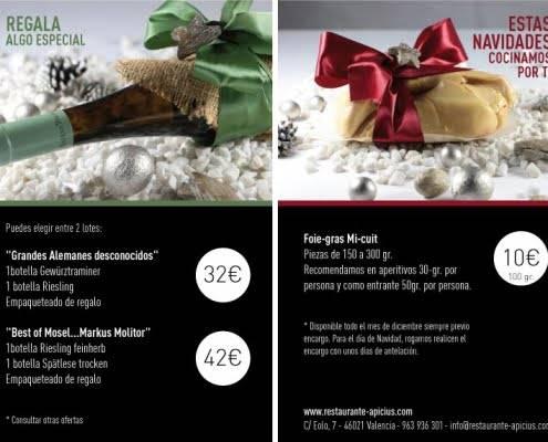 navidad restaurante apicius