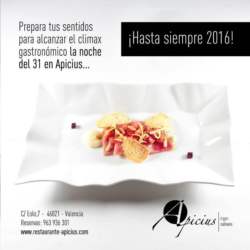 Nochevieja en restaurante apicius restaurante apicius - Restaurantes valencia nochevieja ...