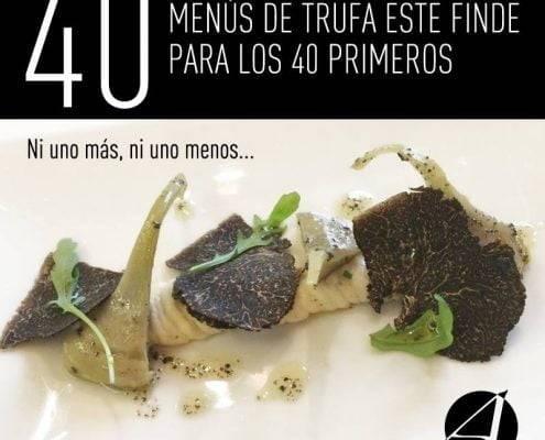 trufa negra restaurante en valencia