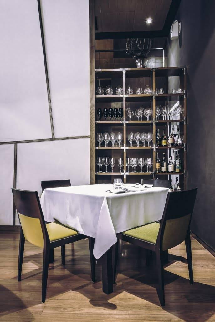 restaurante moderno en Valencia - sala