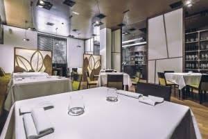 restaurante de lujo en Valencia - mesa