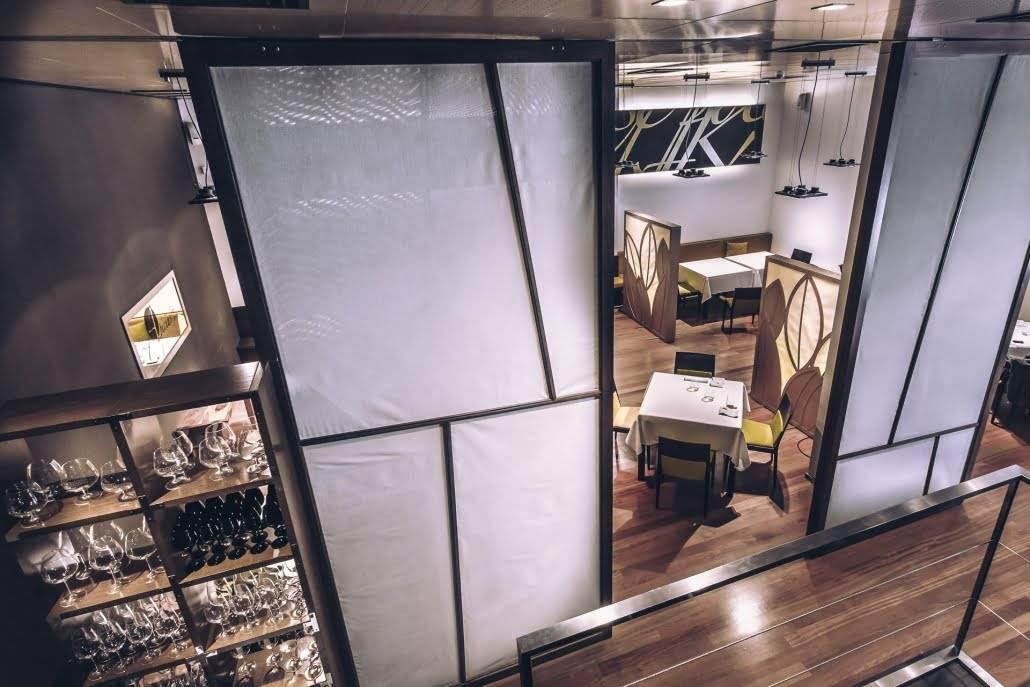 restaurante para ocasiones especiales en Valencia - sala