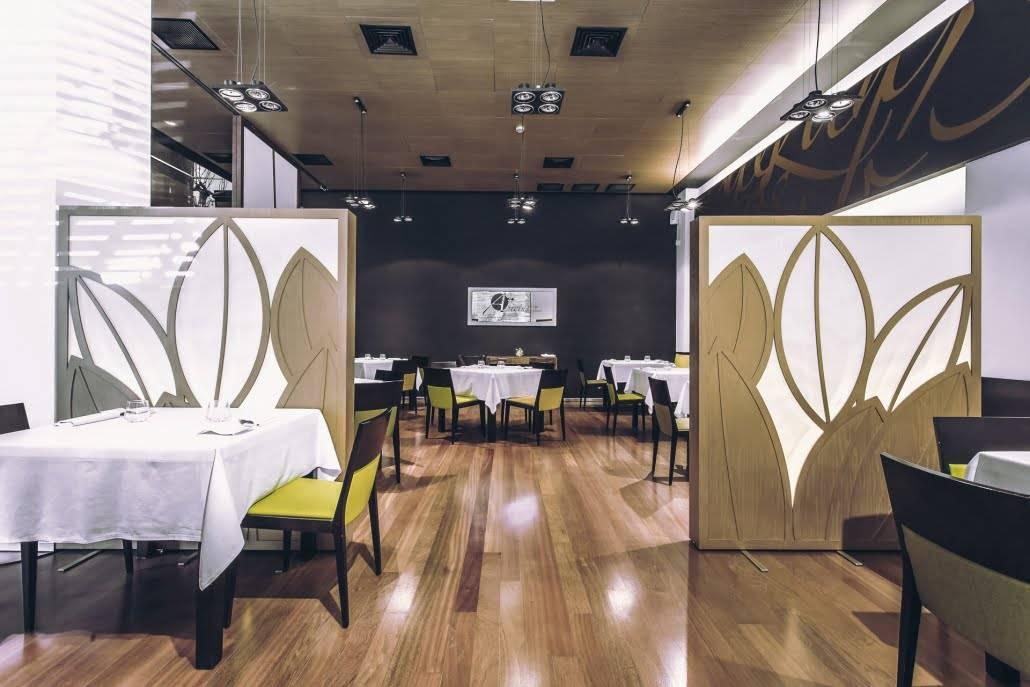 restaurantes con reservados en Valencia - sala entera