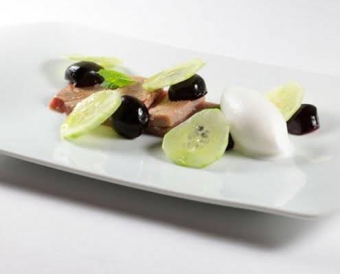 restaurantes de autor en Valencia - sashimi de atún